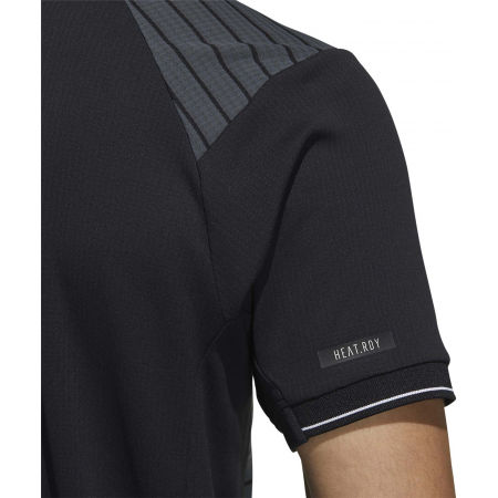 Koszulka polo męska - adidas HTRDY CB M PL 1 - 9
