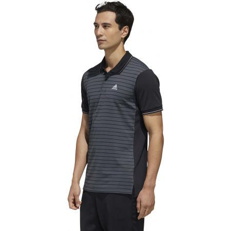Koszulka polo męska - adidas HTRDY CB M PL 1 - 6