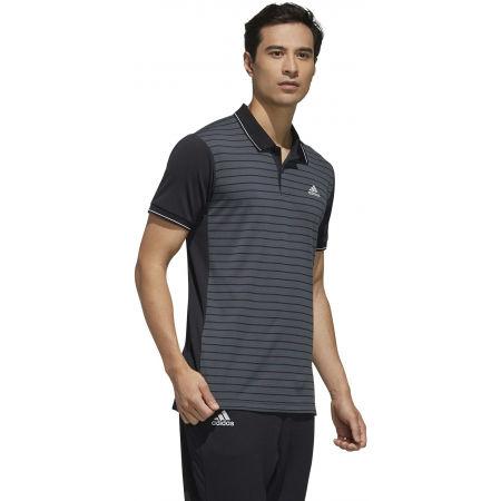 Men's polo shirt - adidas HTRDY CB M PL 1 - 5