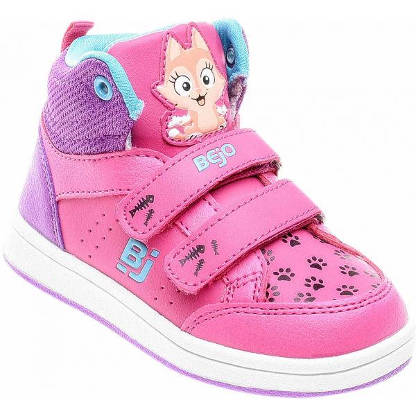 Bejo CATIE KDG růžová 22 - Dětská vycházková  obuv