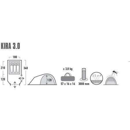 Rekreační stan - High Peak KIRA 3 - 7