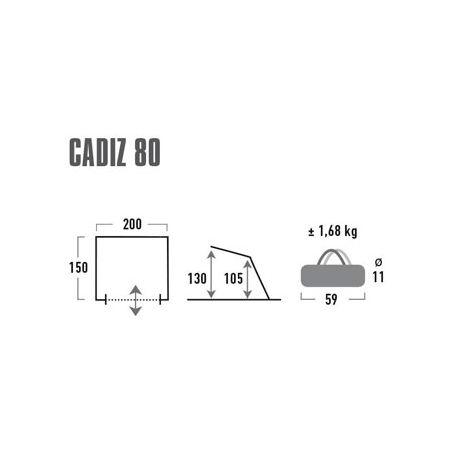 Přístřešek - High Peak CADIZ 80 - 3