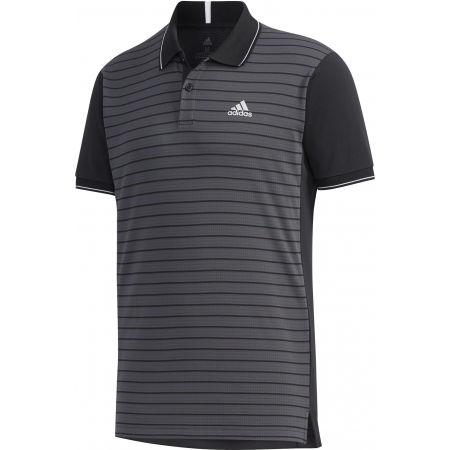 Koszulka polo męska - adidas HTRDY CB M PL 1 - 1