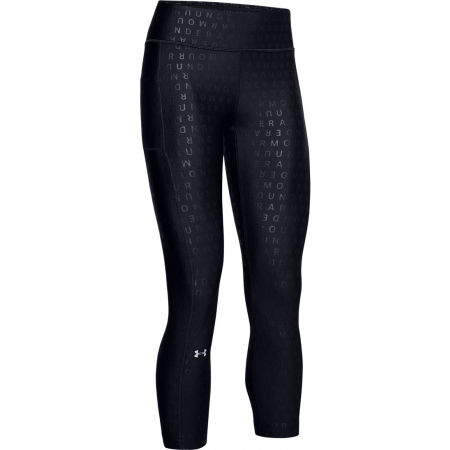 Under Armour HAGE ARMOUR PRINTED UNCLE CROP - Legginsy damskie