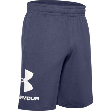 Men's shorts - Under Armour SPORTSTYLE COTTON LOGO SHORT - 1