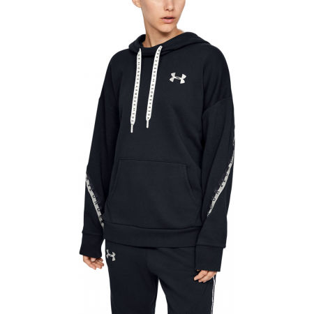 Дамски суитшърт - Under Armour FLEECE HODDIE TAPED WM - 3