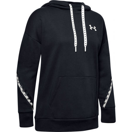 Дамски суитшърт - Under Armour FLEECE HODDIE TAPED WM - 1