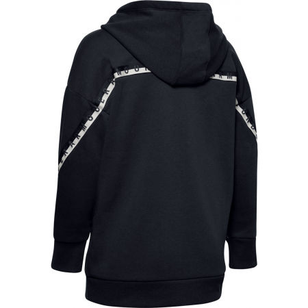 Дамски суитшърт - Under Armour FLEECE HODDIE TAPED WM - 2