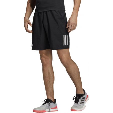Pánské tenisové kraťasy - adidas CLUB 3STR SHORT - 1