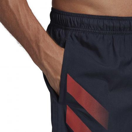 Kąpielówki męskie - adidas BOLD 3 STRIPES CLX SHORT CLASSIC - 9