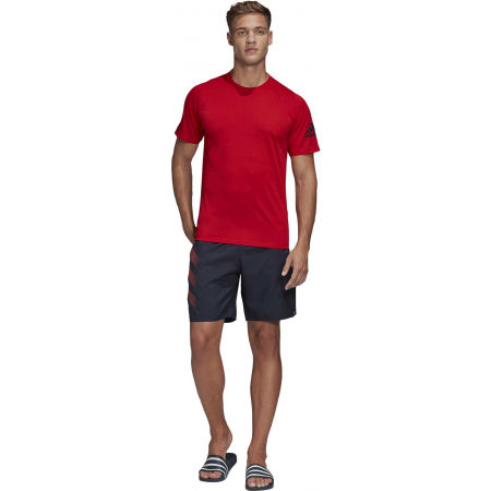 Men's swim shorts - adidas BOLD 3 STRIPES CLX SHORT CLASSIC - 7