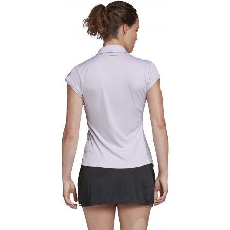 Women's tennis T-shirt - adidas CLUB 3 STRIPES POLO - 7
