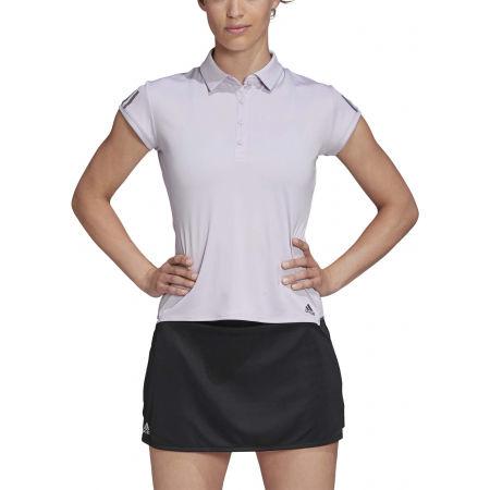 Women's tennis T-shirt - adidas CLUB 3 STRIPES POLO - 3
