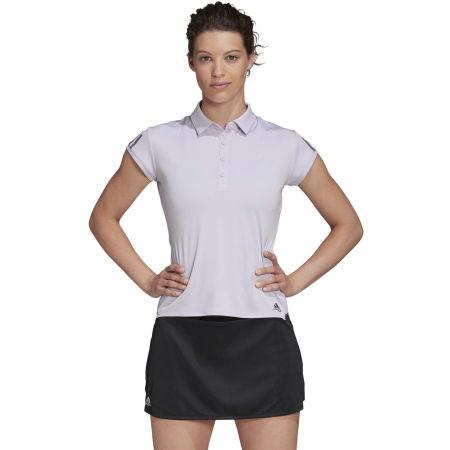 Women's tennis T-shirt - adidas CLUB 3 STRIPES POLO - 4