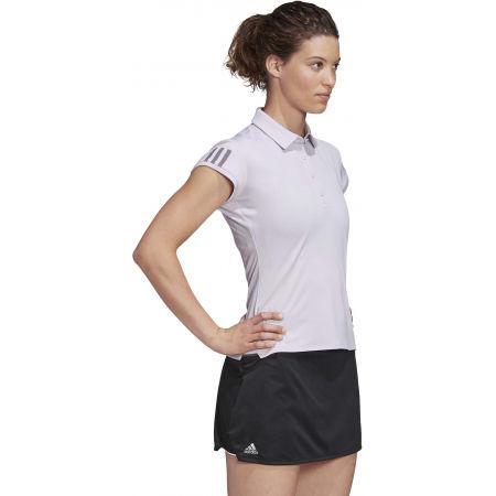 Дамска тениска за тенис - adidas CLUB 3 STRIPES POLO - 6