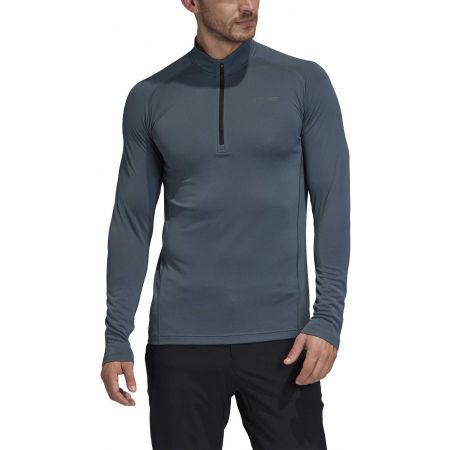 Pánske tričko - adidas TERREX TRACEROCKER 1/2 ZIP - 4