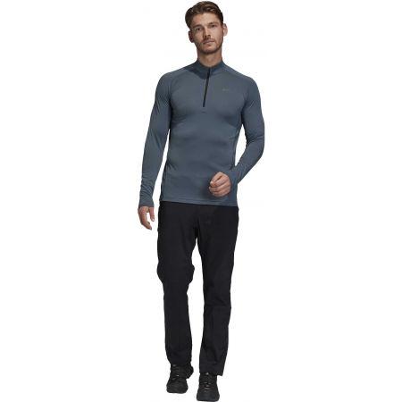 Pánske tričko - adidas TERREX TRACEROCKER 1/2 ZIP - 8