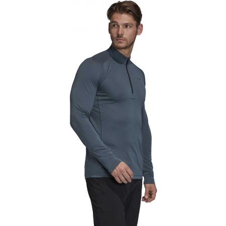 Pánske tričko - adidas TERREX TRACEROCKER 1/2 ZIP - 6