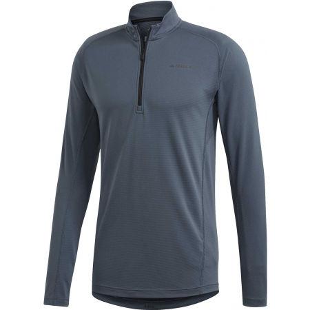 adidas TERREX TRACEROCKER 1/2 ZIP - Pánske tričko