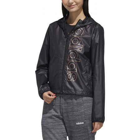 Women's windcheater jacket - adidas ESSENTIALS BRANDED WINDBREAKER - 3