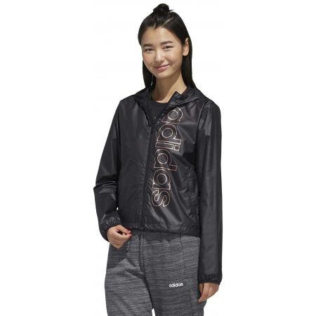 Women's windcheater jacket - adidas ESSENTIALS BRANDED WINDBREAKER - 4
