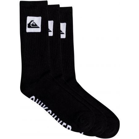 Trojbalenie pánskych ponožiek - Quiksilver 3 CREW PACK - 1