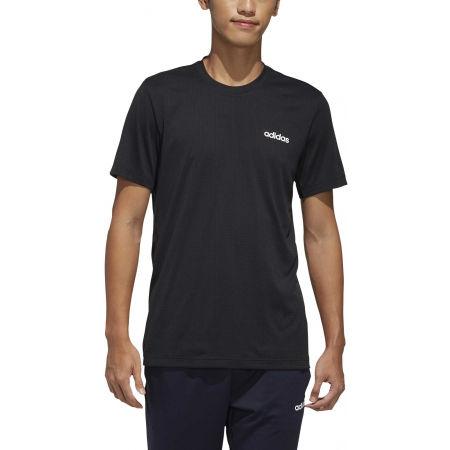 Herren Shirt - adidas MENS FAST AND CONFIDENT TEE - 3