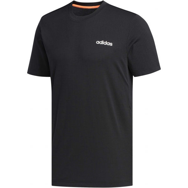 adidas MENS FAST AND CONFIDENT TEE černá 2XL - Pánské tričko