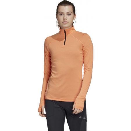 Дамска блуза - adidas TERREX TRACEROCKER 1/2 ZIP - 4