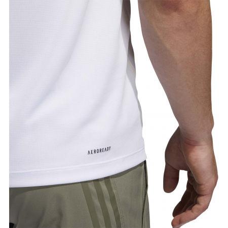 Herren Trainingsshirt - adidas AEROREADY 3S TEE - 11