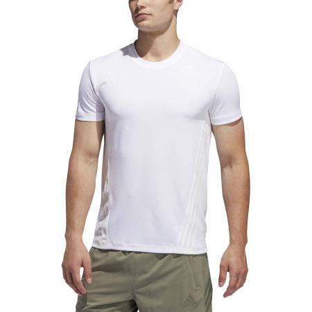 Herren Trainingsshirt - adidas AEROREADY 3S TEE - 3