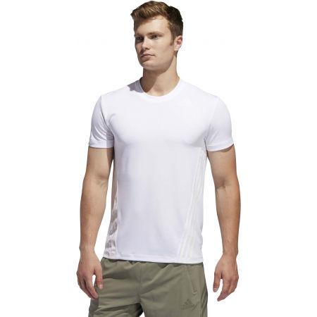 Herren Trainingsshirt - adidas AEROREADY 3S TEE - 4