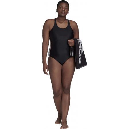 Dámske jednodielne plavky - adidas SH3.RO TAPER S - 9