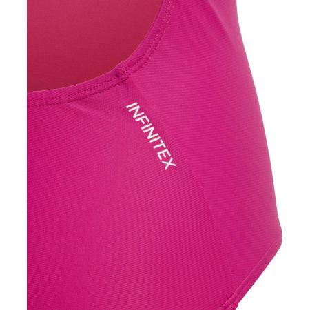Dievčenské plavky - adidas ATHLY V SOLID SUIT TAKEDOWN - 3