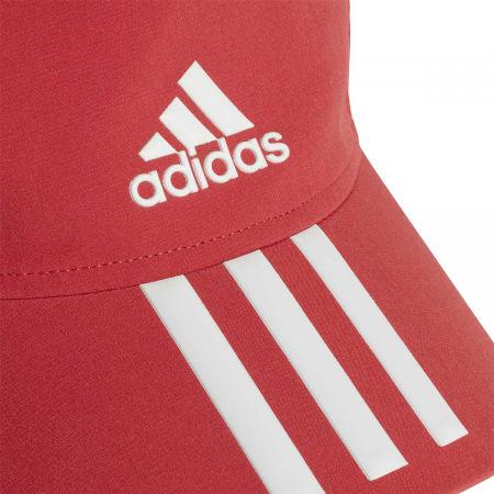 Sportowa czapka z daszkiem - adidas AEROREADY BASEBALL CAP 3S 4THLTS - 4