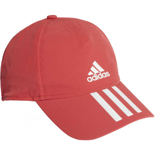 adidas AEROREADY BASEBALL CAP 3S 4THLTS červená UNI - Sportovní kšiltovka