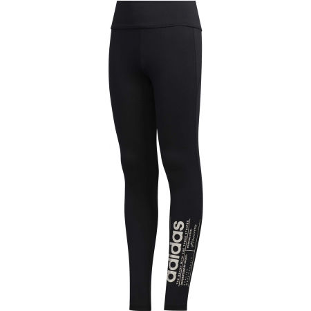 Girls' leggings - adidas YG BB TIGHT - 1