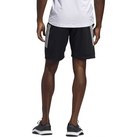 Men's shorts - adidas 3S KNIT 9INCH SHORT - 6