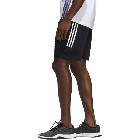 Men's shorts - adidas 3S KNIT 9INCH SHORT - 4