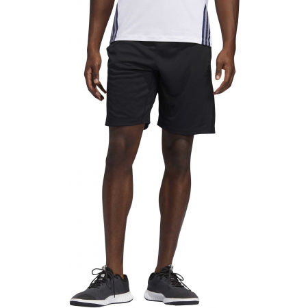 Men's shorts - adidas 3S KNIT 9INCH SHORT - 3
