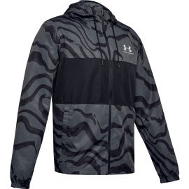 Under Armour SPORTSTYLE WIND PRINTED HOODIE JACKET - Pánska bunda