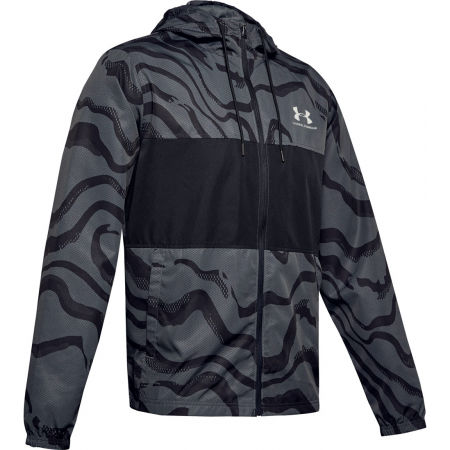 Under Armour SPORTSTYLE WIND PRINTED HOODIE JACKET - Men's jacket