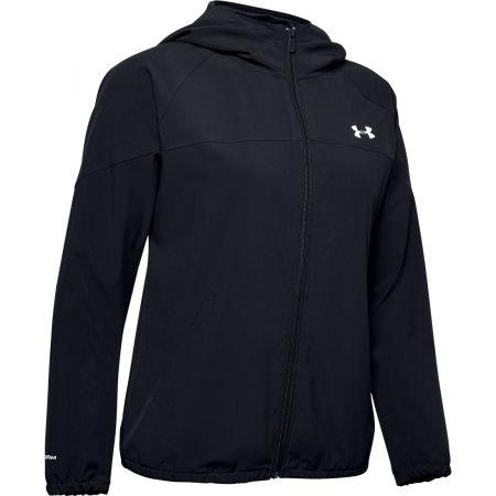 Women's jacket - Under Armour WOVEN HOODIED JACKET - 1