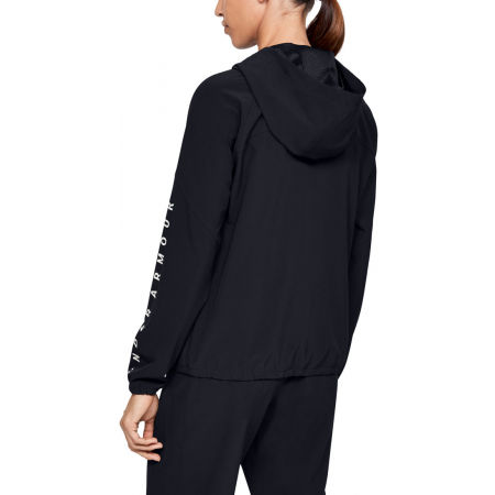 Women's jacket - Under Armour WOVEN HOODIED JACKET - 3