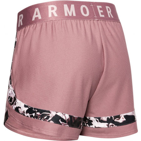 Women's shorts - Under Armour PLAY UP 3.0 PRINTED SHORTS - 2