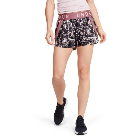 Women's shorts - Under Armour PLAY UP 3.0 PRINTED SHORTS - 3