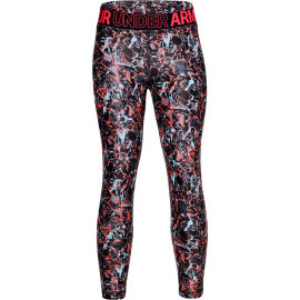 Under Armour ARMOUR HG PRINTED CROP - Dívčí legíny