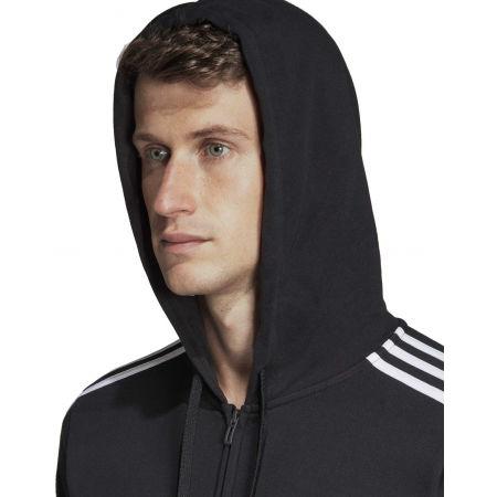 Men's hoodie - adidas E 3S FZ FT - 9