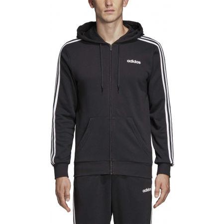 Men's hoodie - adidas E 3S FZ FT - 3