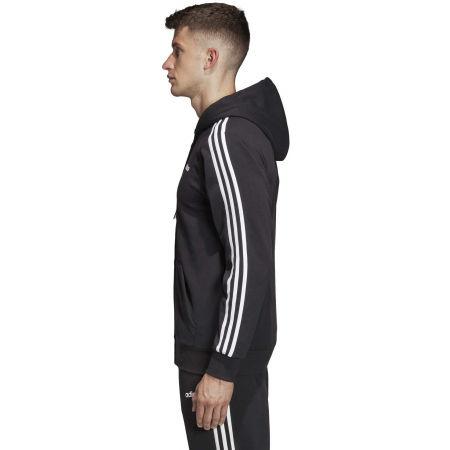 Men's hoodie - adidas E 3S FZ FT - 5
